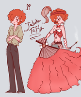 Tabatha (salt water) taffy by Ask-Olive-And-Oliver