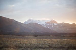 Iceland Mountain Stock by little-spacey