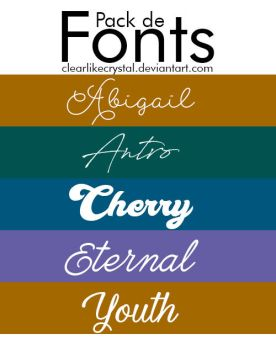 #01 | FONTS by clearlikecrystal