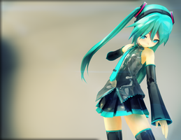 Cinema4D Miku by Process39