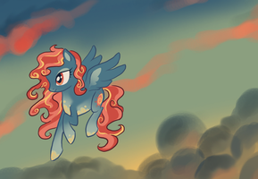 Fire Skies by Bedupolker