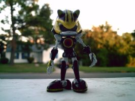 Metal Sonic 3.0 by Aquaslash