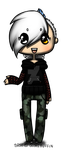 FroID chibi by AFrozenHeart