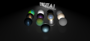 C4D 13 Materials Set by digital-embrace