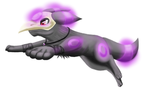 Plague the Umbreon by TailsFoxStar
