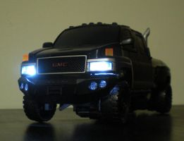leader class Ironhide 2 by future-trunks