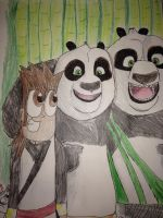 Panda Buddies  by Africa2000