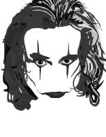 The Crow No Pen work 1 by daylover1313