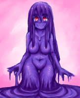 Monster Girl Challenge Day 3: Slime by AlyOssan