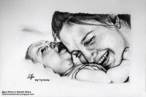 Mother's Love by ayekhine