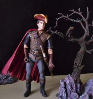 Prince Phillip the Valiant custom action figure by MaxxieJames