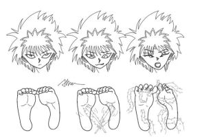 Play with feet  6 by Alma1129