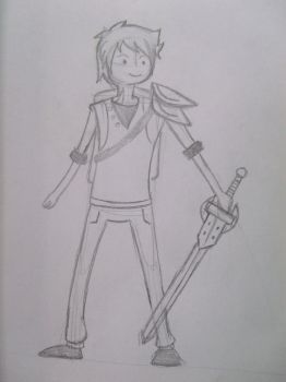 Adventure Time 16 Yr.Old Finn by BlueRaven022