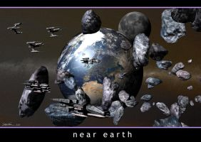 Near Earth by SteveReeves