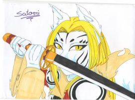 I burn you to death by Satomi-Mreow