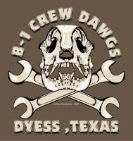 B-1 Crew Dawgs by yankeedog