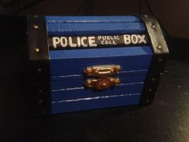Doctor Who Tartis themed box by Tooshie253