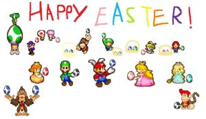 Happy Easter From Mario by Mariokartracer10
