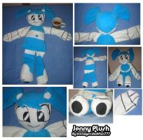 Jenny Plush by teenagerobotfan777