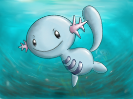 AC - Wooper Art by nintendo-jr