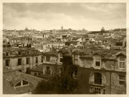 Roofs of Rome by vitorhfd