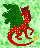 The strawberry dragon by chili19