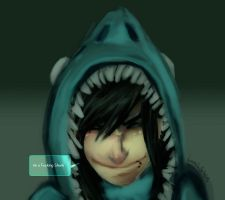 IM A FUCKING SHARK by bunvin