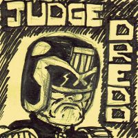 Judge Dredd by Bleu-Ninja