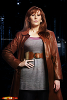 Doctor Who Poster - Donna Noble by feel-inspired