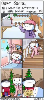 Christmas Miracle by theodd1soutcomic