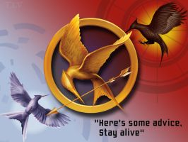 Mockingjay Wallpaper by eef2493