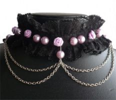 Lolita choker by Mornie-Alfinus