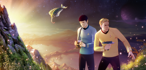 Commission: Star Trek by Denoro
