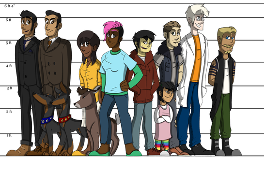 Cartooning project height chart 9-26-16 by denahzi