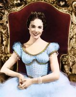 Re-coloring exercise - Julie Andrews by huina