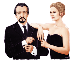 13 Lucy and Delgado by harbek