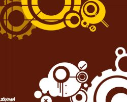 Wallpaper: Gears by ziksan