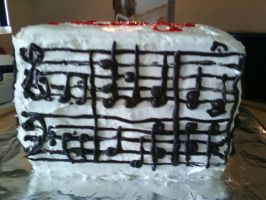 Happy Birthday Music Cake-3 by Band-Geek24