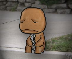 Little Big Planet: Sad Sack by the-lagz
