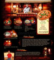 Pizza Bar - Grand Wall by webgraphix