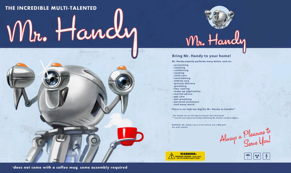 Mr Handy Advert - Fallout 4 by PlanK-69
