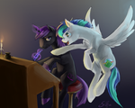 Commission: Editor and Writer by SilFoe