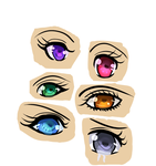 Anime Eyes by Nimufu