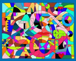 The Quilted Patchwork of Love by one-tough-one