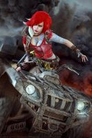 Borderlands 2_The bandit by SoranoSuzu
