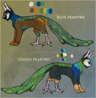 Peafowl marivente adoptables auction :CLOSED: by SamuraiAdopts