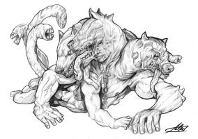 cerberus by AbsolumTerror
