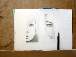 Faces WIP by CiNiTriQs