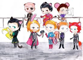 The Avengers by sovarove