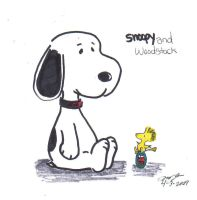 snoopy and woodstock easter by articice21012